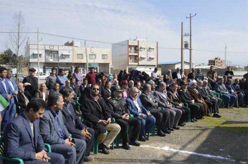 مجتمع آموزشی خیرساز در شهرستان گنبدکاووس کلنگ زنی شد