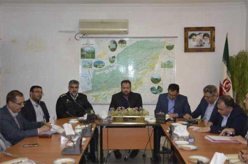 کمیته فرعی کارگروه سلامت و امنیت غذایی شهرستان گنبد کاووس برگزار شد