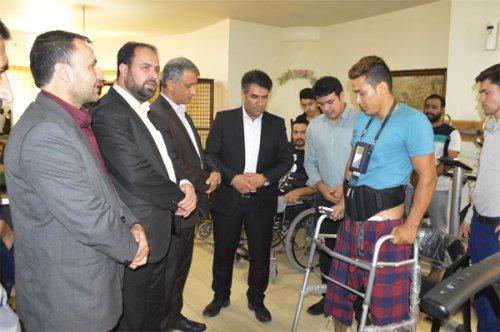 دستگاه طبی پاراواک به کمک بیماران ضایعه نخاعی گلستان آمد