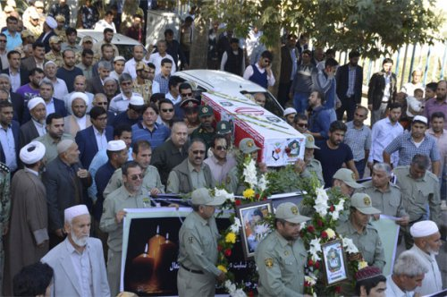 پیکر محیط بان فقید پارک ملی گلستان در گنبد تشییع شد