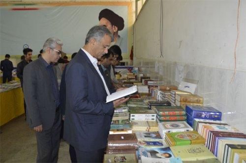 نمایشگاه کتاب در گنبدکاووس افتتاح شد