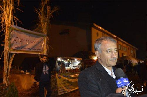 26 خانه روستایی از استان های مختلف در جشنواره بین المللی فرهنگ اقوام گنبدکاووس حضور دارند