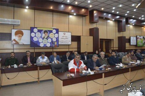 فرماندارویژه گنبدکاووس خواستار توجه ویژه به حوزه بهداشت و درمان این شهرستان شد