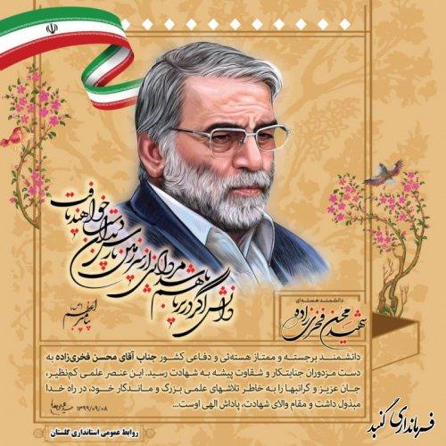شهادت دانشمند هسته ای و دفاعی کشور؛ محسن فخری زاده