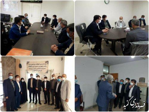 افتتاح دفتر هیئت بازرسی انتخابات شهرستان گنبدکاووس